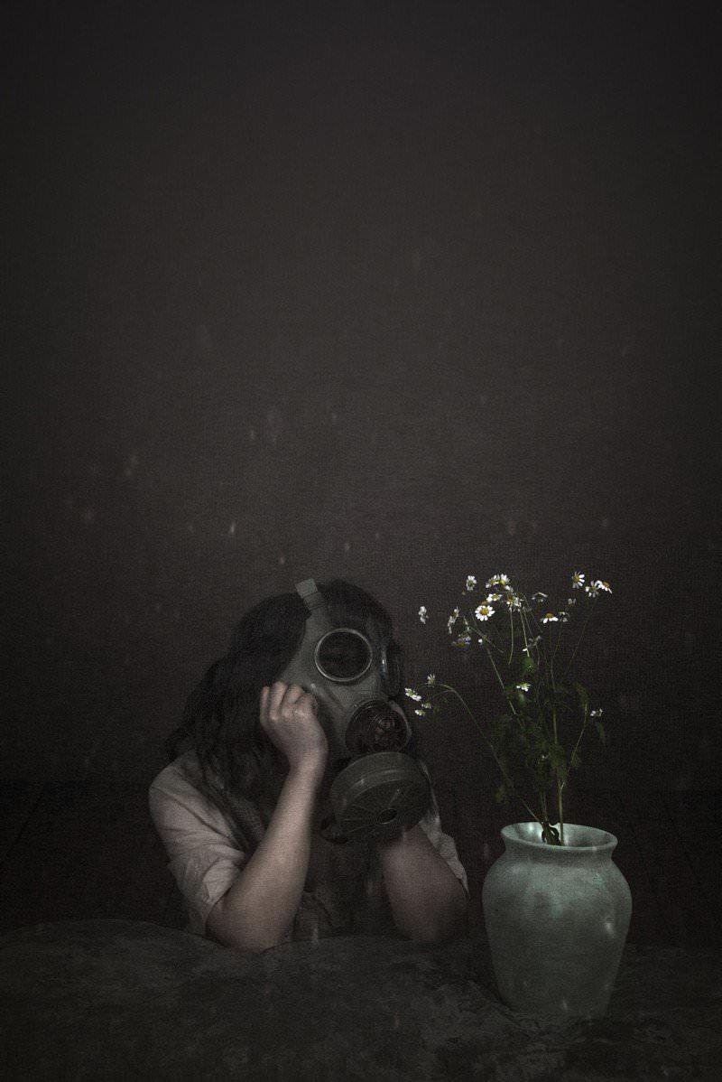 毒ガス女子の写真
